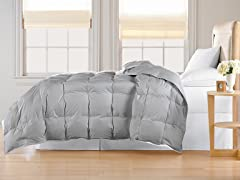 Down Alternative Comforter-Platinum-3 Sizes