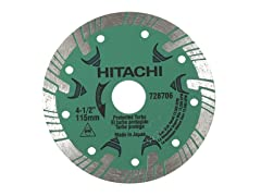 4-1/2-Inch Turbo Diamond Saw Blade