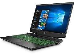 HP 15-DK1035NR i5 GTX1050 Gaming Notebook