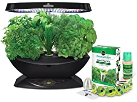 AeroGarden 7 LED Indoor Garden with Gourmet Herb Seed Kit