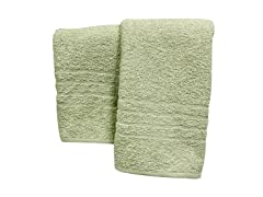 100% Cotton 2-Pack Oversized Spa Collection Bath Sheets