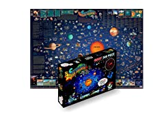 500 Pc Illustrated Solar System Puzzle