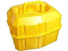 Low-Density Polyethylene Safety Half-Liter Bottle Carrier