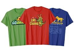 Label Shirts!