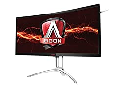 "AOC AGON 35"" WQHD Curved Gaming Monitor"