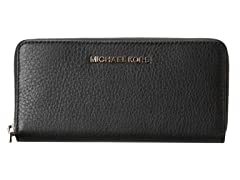 Michael Kors Bedford Zip Around Continental, Black