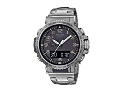 Casio Men's Pro Trek SS Watch