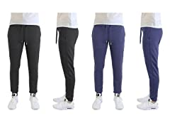 GBH Men's Slim Fit Lounge Joggers 2-Pack