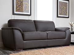 Avenue Leather Sofa