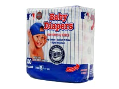 Minnesota Twins Disposable Diapers