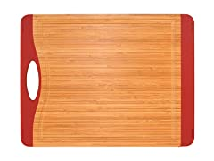 "15"" Non-Skid Cutting Board - Red"
