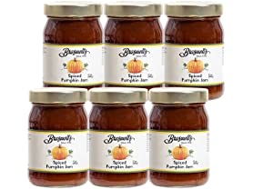6 Pack Braswells Spiced Pumpkin Jam