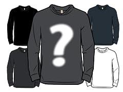 Random Blank Jersey Pullover Hoodie