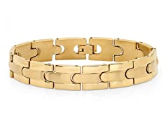 18kt Gold Plated Link Bracelet