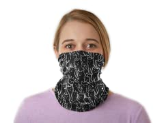 """""""Lots of Cats Pattern"""" Winter Neck Gaiter"""