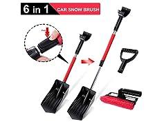 6 in 1 Car Snow Brush Snow