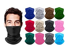 Breathable Stretch Gaiter Face Mask (2-Pack)