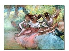 Edgar Degas Four Ballerinas on the Stage