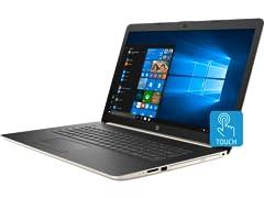 "HP 17.3"" HD+ Touch AMD Laptop"