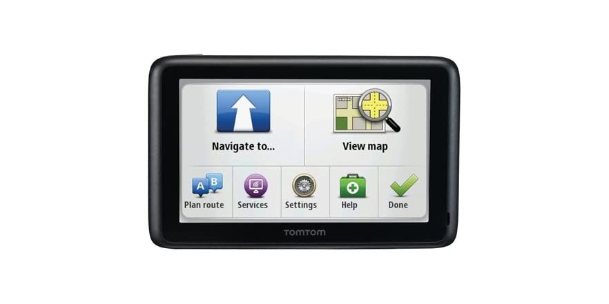 tomtom 4 3 gps with lifetime maps traffic. Black Bedroom Furniture Sets. Home Design Ideas