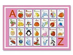 Alphabet Dreamy Rug