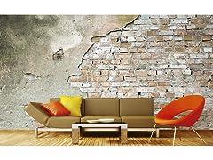 Grunge Wall Wall Mural