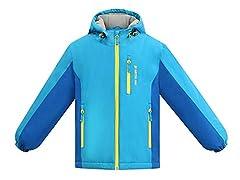 Children's Arctic Paw Ski Jacket Electric Blue