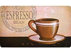 Fashion Comfort Kitchen Mat - Espresso