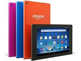 "Amazon Fire HD 8"" (2015) Wi-Fi Tablets"