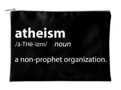 """Atheism"" Accessory Pouch"