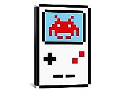 Gameboy Pixel Art 26x18 Thin