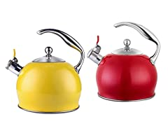 Whistling 3L Induction Kettle, C-Comfort Handle