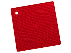 Casabella Pot Holder/Trivet - Red