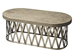 Concrete Cocktail Table