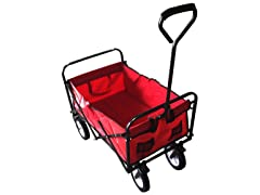 Winsome House Folding Outdoor Utility Wagon