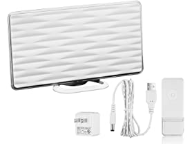 ViewTV Indoor Antenna w/ 50mi Range & Wireless Doorbell