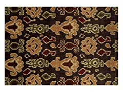 Parker Ikat Brown Rug - 5 Sizes