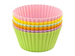 """Casabella 4"""" Large Muffin Cups-Set of 6"""