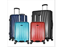 Brighton-3 Piece Expandable Hard-Case Luggage Set
