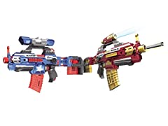Foam Dart Attack Blaster and Refill Darts