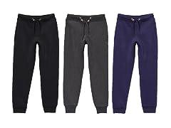 Boys 3PK Fleece Jogger Sweatpants