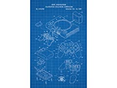 Playstation Dual Shock Screen Print