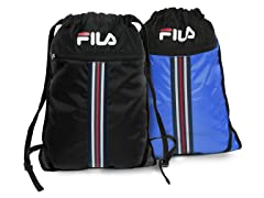 Black & Blue X2 Sackpacks (2-Pack)