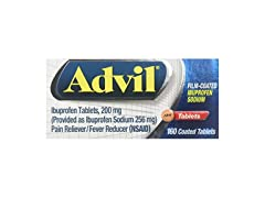Advil Film Coated Ibuprofen Tablets