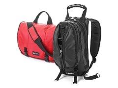 Vespa City Backpack or Messenger Bag