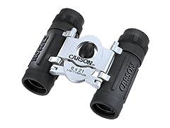 Carson Trek 8x21mm Compact Binoculars