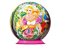108-Piece Princess 3-D Puzzle Ball