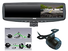 "720P 4.3"" Rearview DVR w/NV Cameras"
