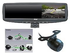 "720P 4.3"" Rearview DVR w/NV Cameras"
