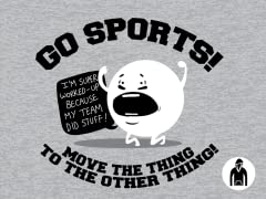 Go Sports! Pullover Hoodie